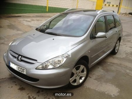 Peugeot 307 SW 2.0 HDi 90 Clim con 5 puertas