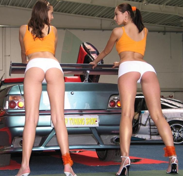 chicas coches: