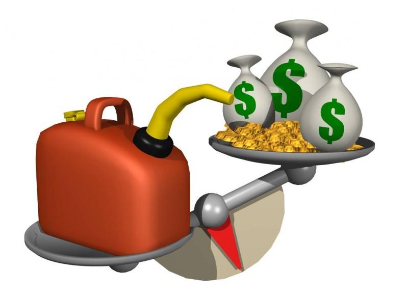 El litro de la gasolina por 39 rublos