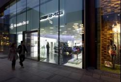 El primer salón de venta exclusivo AMG abrió en China
