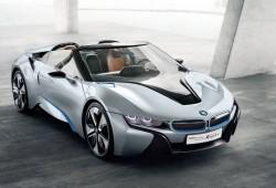 BMW presenta el i8 Spyder