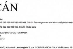 Lamborghini registra el nombre Huracán