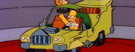El auto de Homero Simpson se hizo realidad