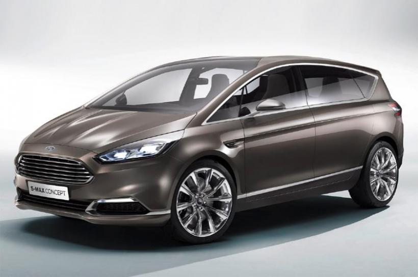 Fotos Ford S-MAX Concept, así será el nuevo S-MAX 2014 (25 fotos)