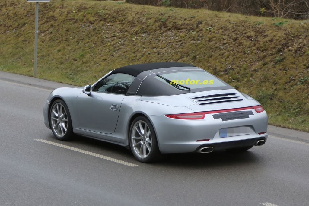 Porsche 911 targa 2014 su dise o al descubierto for Porche diseno