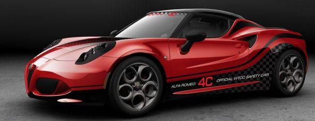 Alfa Romeo 4C, nuevo 'Safety Car' del WTCC 2014