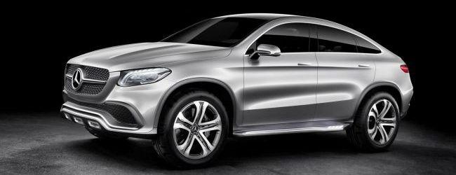 Mercedes benz concept coupe suv al descubierto for Mercedes benz in vance al