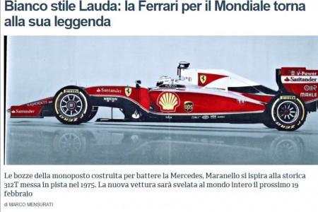 El nuevo Ferrari cambia de aspecto, según adelantan desde Italia