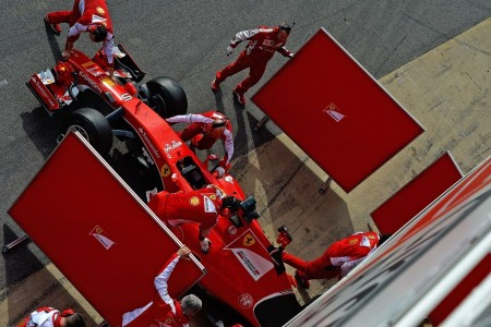 Rivola asegura que el motor Ferrari ha alcanzado al Mercedes