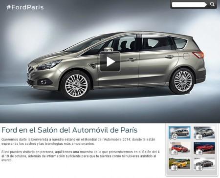 Ford no acudirá al Salón de París 2016