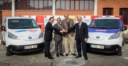 Pascual, Nissan y SEUR apoyan el reparto de mercancías con vehículos eléctricos
