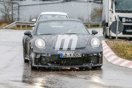 Fotos espía del Porsche 911 GT3 2017