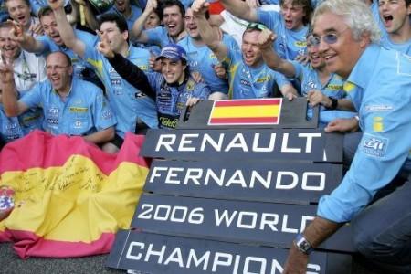 Objetivo Renault: repetir 2005 y 2006