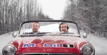 Alonso y Button, actores de primera