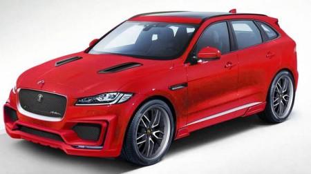 Arden modifica al Jaguar F-Pace con un paquete aerodinámico