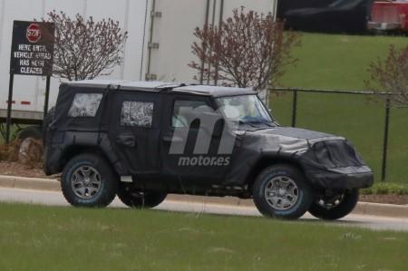 El esperado Jeep Wrangler 2018, cazado por primera vez