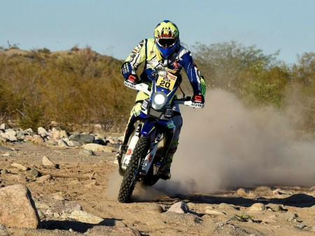 TVS valora disputar el Dakar como equipo oficial