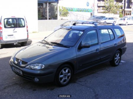 2002 renault megane break 1 6 16v automatic related infomation specifications weili automotive. Black Bedroom Furniture Sets. Home Design Ideas